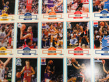 1990 Fleer basketball rare uncut cards sheet