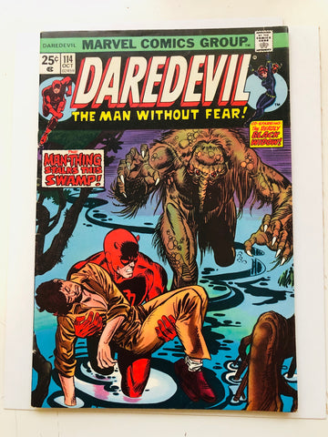 Daredevil #114 comic book 1974