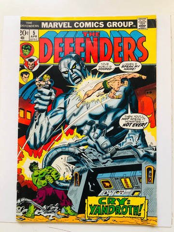 Defenders #5 comic book