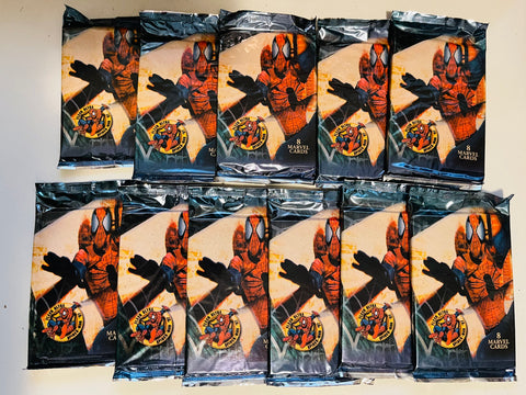Fleer Ultra Spider-Man rare 11 sealed packs from 1997