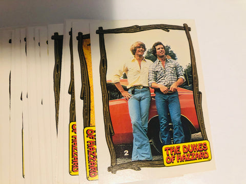 Dukes of Hazzard TV show series 3 cards set 1981