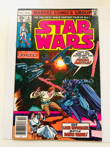 Star Wars movie #6 comic book 1977