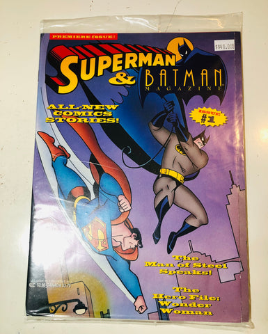 Superman and Batman comic magazine #1