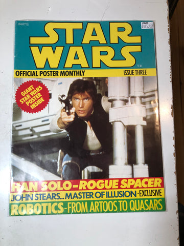 Star Wars movie poster original magazine 1977