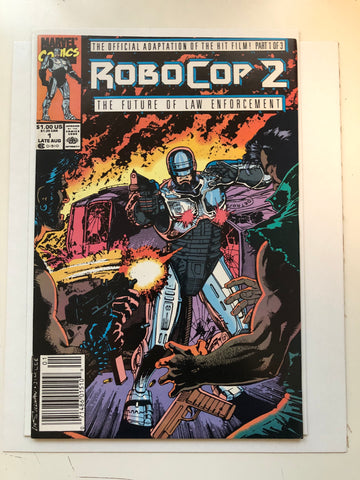 Robocop movie 2 comic book
