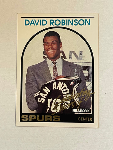 David Robinson basketball DR1 insert card 1994