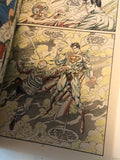 Superman comic book signed by Tom Grummett with COA