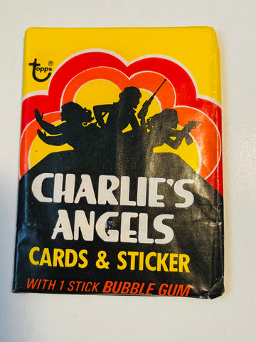 Charlie's Angels TV show series 1 cards pack 1977