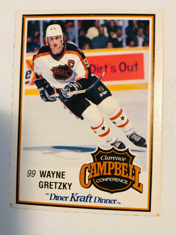 Wayne Gretzky Kraft Dinner high grade hockey card 1989