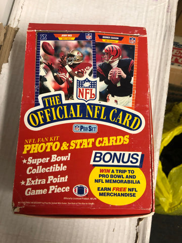 1989 Proset Football cards 36 packs box