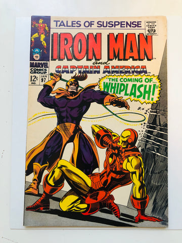 Iron Man #97 first appearance Whiplash comic book