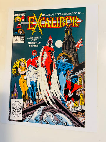Excalibur #1 high grade comic book