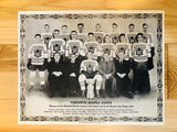 1933 CCM Toronto Maple Leafs hockey team original photo