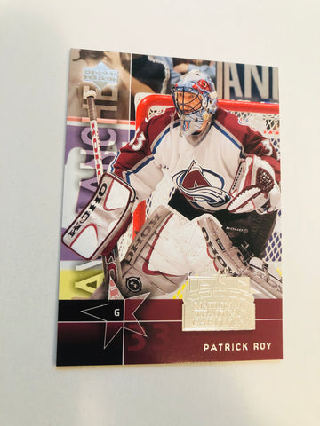 Patrick Roy rare National trading card day hockey card 2003