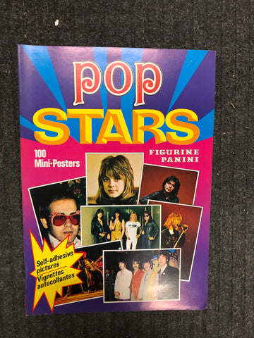 1975 Panini Pop Stars posters Album ( no stickers)
