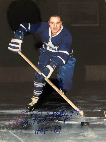 Toronto Maple Leafs Red Kelly signed photo with COA