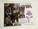 1995 Toronto Raptors draft card card sheet and ticket