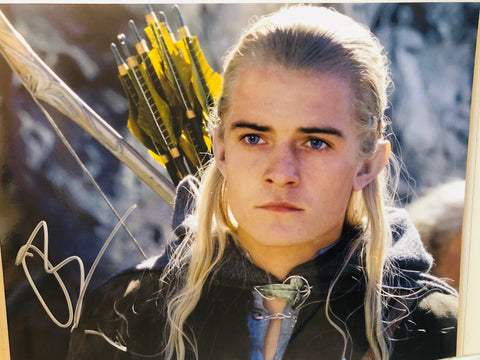 Lord of the Rings Orlando Bloom signed photo with COA