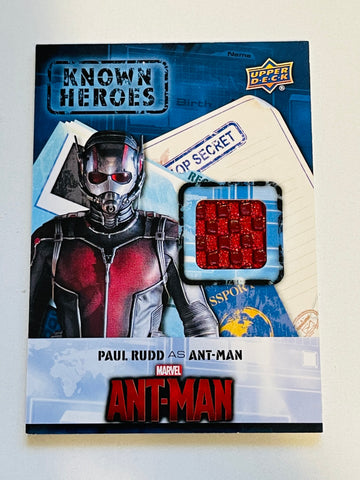 Marvel superheroes movie Ant-Man memorabilia insert card