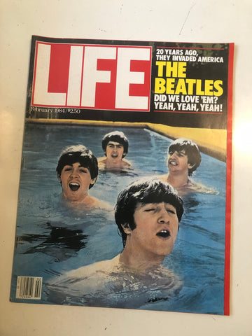 Beatles rare life magazine 1984