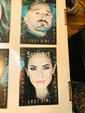 Lost Girl TV show rare Showcase 6 cards set 2011