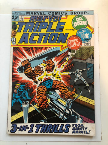 Marvel Triple Action #1 comic book