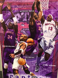 Toronto Raptors basketball rare original vintage basketball poster early 2000s