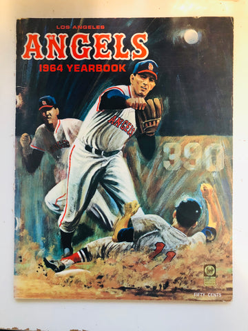 1964 Los Angeles baseball year book