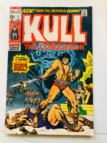 Kill the Conqueror #1 comic book 1971