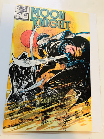 Moon Knight #28 comic book 1983