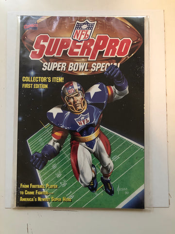 Superpro Super Bowl #1 special issue comic 1990s