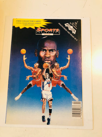 Michael Jordan Sports Superstars annual #1 comic 1993