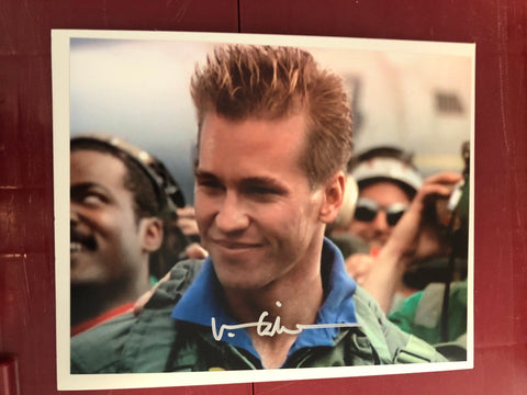 Val Kilmer rare Top Gun movie vintage autograph photo with COA