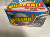 Topps baseball cards 36 packs box from 1989