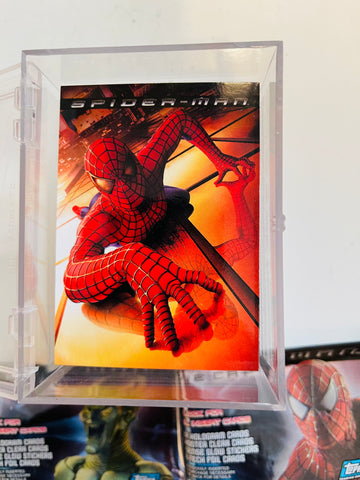Spider-Man movie cards base set 2002