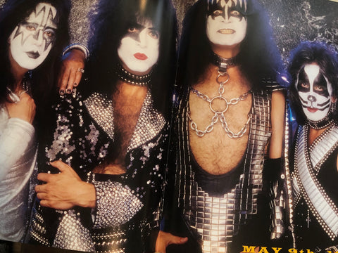 Kiss Alive concert program 1996-97