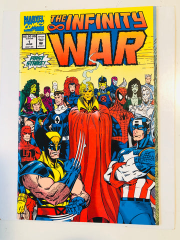 The Infinity War #1 high grade comic book 1992