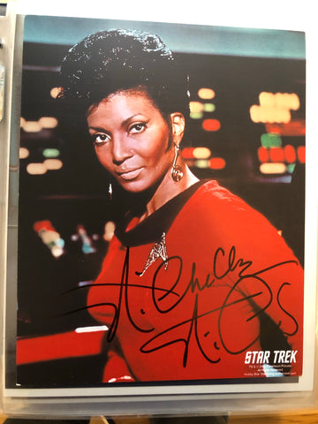 Star Trek Lt.Uhura Nichelle Nichols signed in person autograph with COA