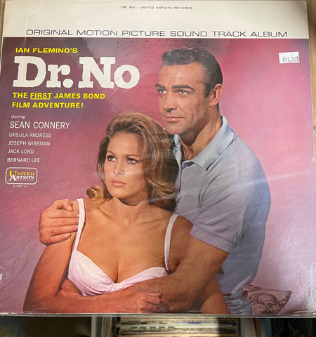 Dr. No James Bond movie vintage record album 1963