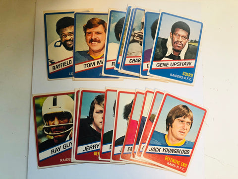 1976 Topps Wonderbread football cards set
