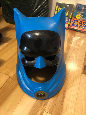 1966 Ideal toys Rare original Batman plastic toy helmet
