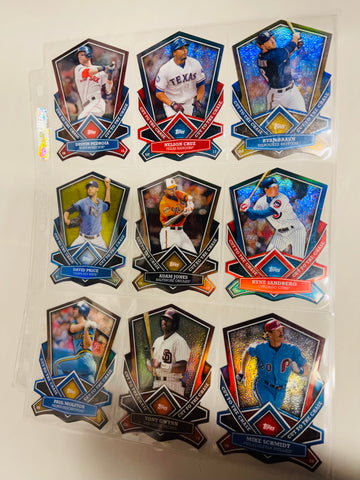 2013 Topps Cut to the Chase baseball cards insert lot deal