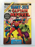 Captain Marvel Giant size #1 comic book 1975