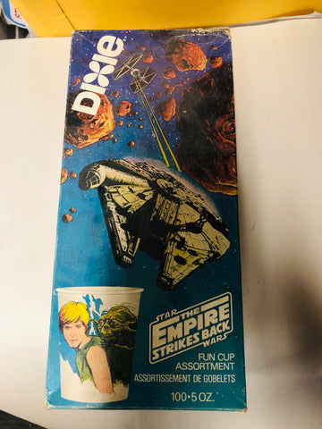 Star Wars Empire strikes back full Dixie Cups box 1981