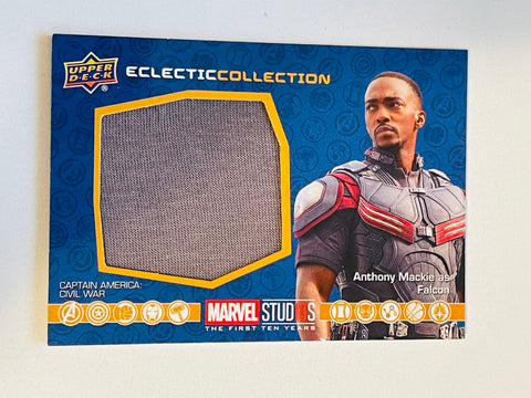 Marvel movie Falcon Anthony Mackie memorabilia insert card