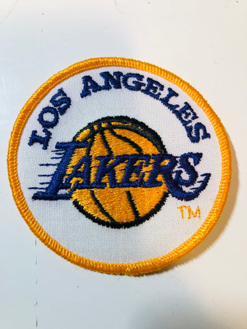 1970s LA Lakers original basketball patch