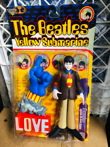 Beatles Yellow Submarine vintage toy figure in sealed box 1999