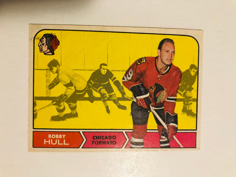 1968 opc Bobby Hull hockey card