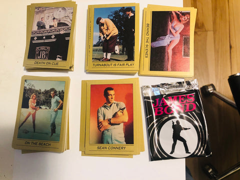 James Bond movies rare series 1 cards set from Eclipse 1993