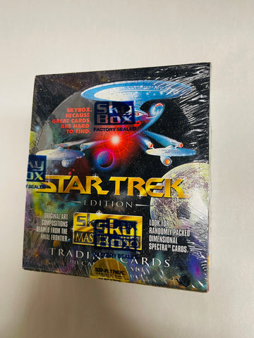 Star Trek Master series 36 packs factory sealed box 1993